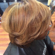Honey Warm Brown with Hi-lites and Low-Lites on natural texture hair @sheritacherry