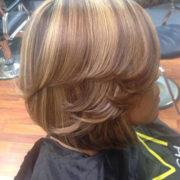 3-D Dimensional hair color on natural color -w/3 Blonding techniques @sheritacherry