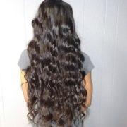 Full Head Sew-in-GHA Natural Body Hair @sherita Cherry
