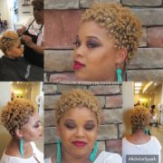 Natural Texture with Blonding @theron