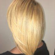 Forever Blonde with Dimensional Bob Hair Cut. Natural Texture hair @mercedehightower