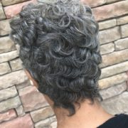 Soft waves w/loose curls with Gray Briite @sheritacherry