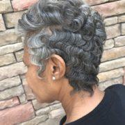 Pop of Gray-to make Gray Hair Bright @sheritacherry